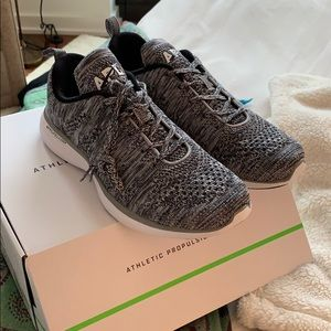 APL grey heather sneakers NWT